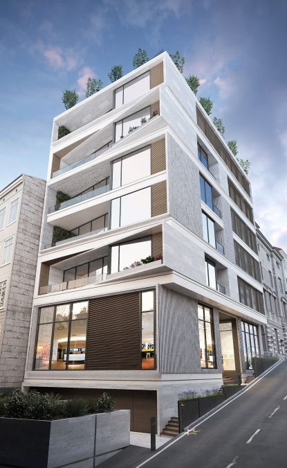 Architecture - cedrus - exterior - building - yaser