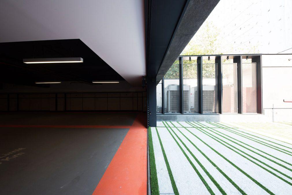 Architecture - cedrus - parking - building - dolat