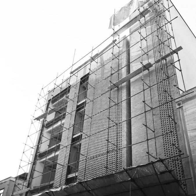 Architecture - cedrus - facade - building - underconstruction