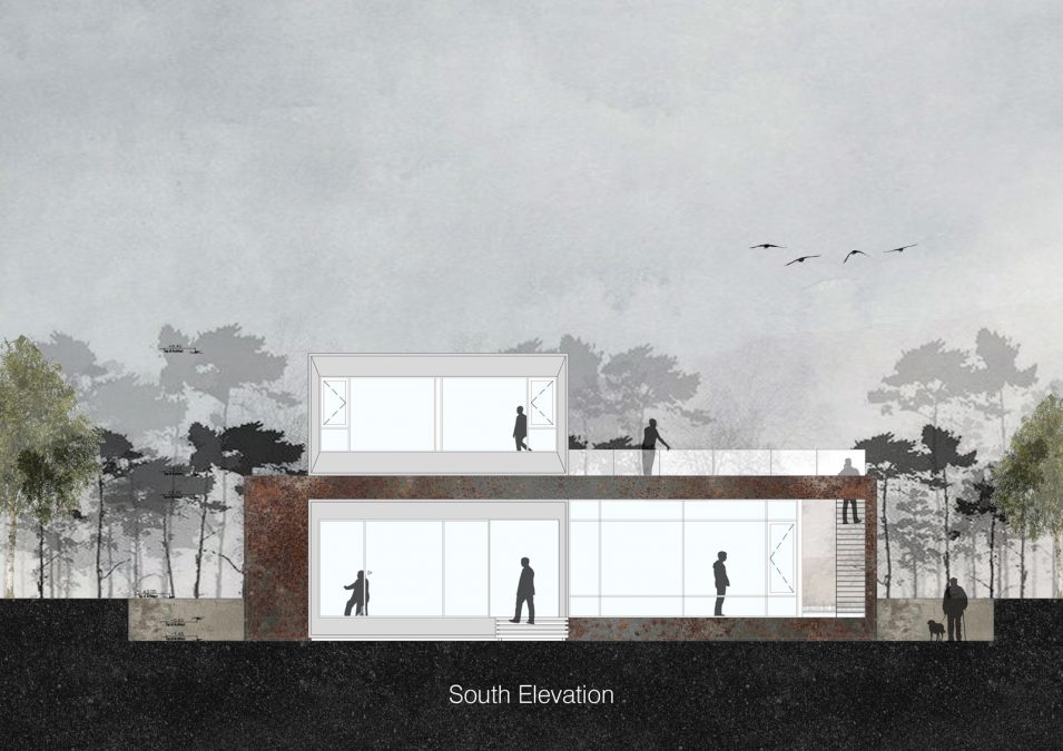 Architecture - cedrus - elevation - villa