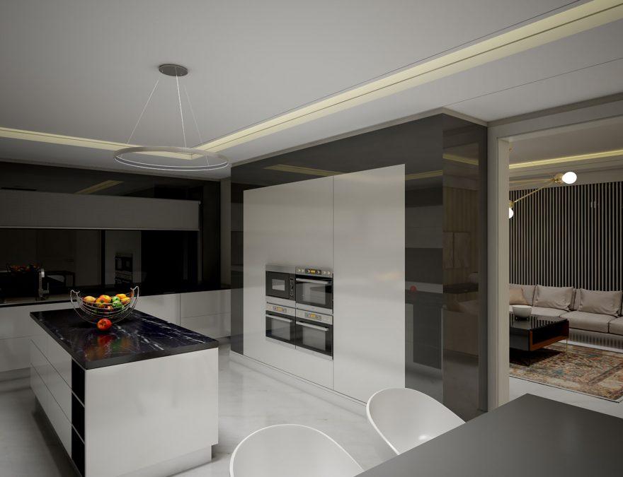 Architecture - cedrus - interior - villa