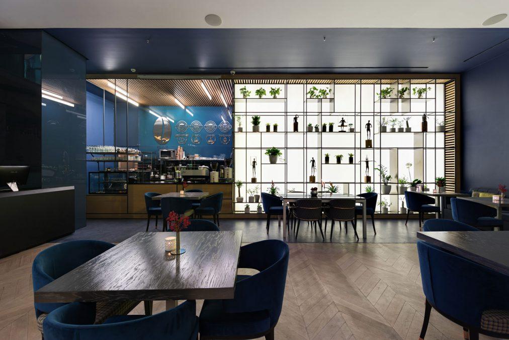 Architecture - cedrus -interior - cafe